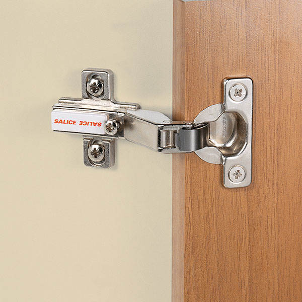 Series 600 Mini hinges - 94° opening - Positive angled application-1