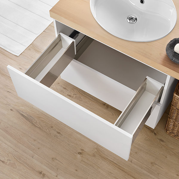LINEABOX Under-sink drawer - 2-sided - H 180 mm-1