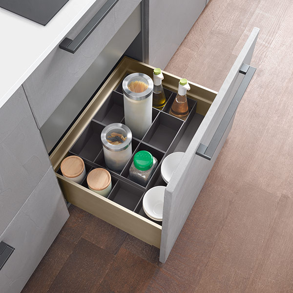 Storage compartments H 88,5 mm - SALICE-1