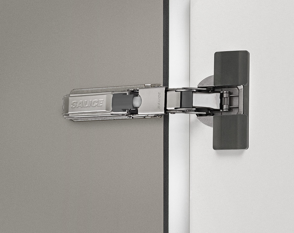 Universal hinges - 110° opening - Standard application / half-inset doors / doors with moulded profiles-2