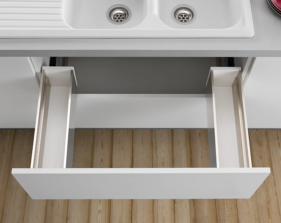 LINEABOX Under-sink drawer - 2-sided - H 180 mm-2